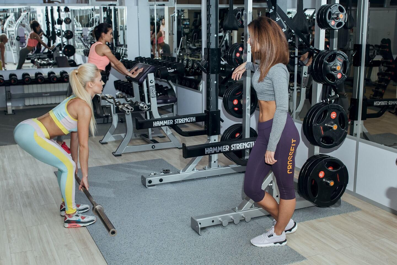 Набор мышечной массы для девушки