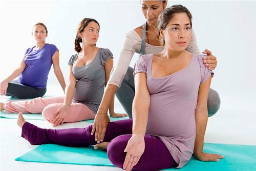 Парная гимнастика для беременных 634